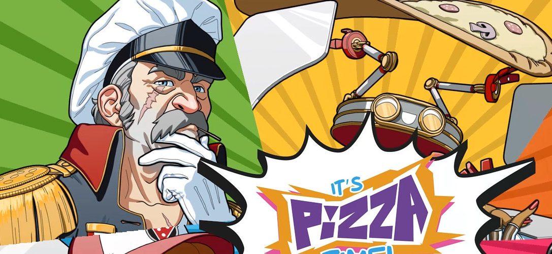 Cerca di non distruggere la città mentre consegni la pizza con un mech enorme in Pizza Titan Ultra