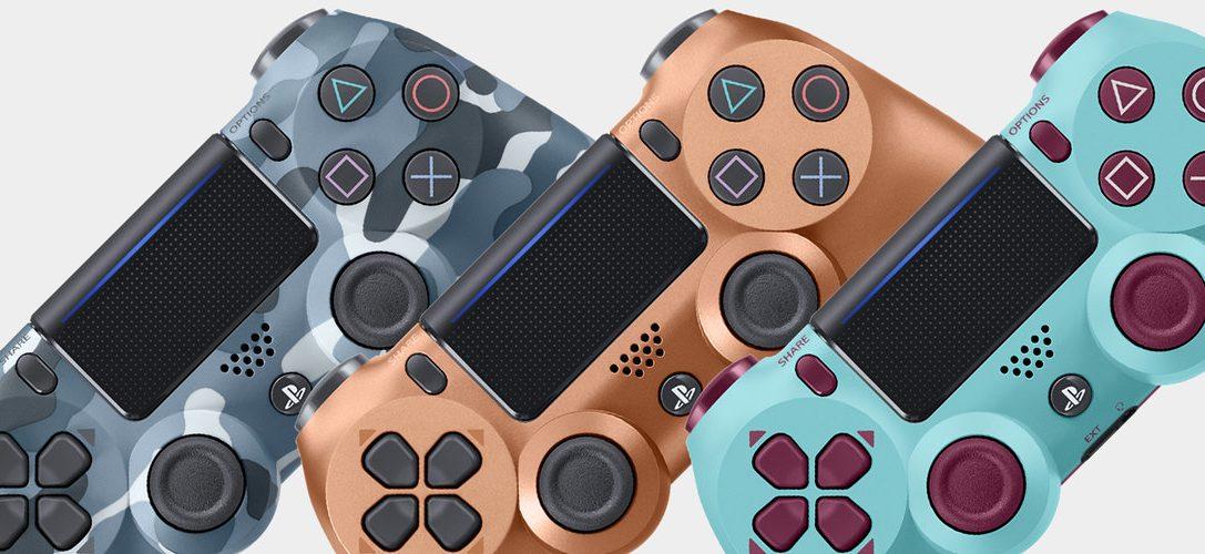Sono stati presentati tre nuovi controller wireless DUALSHOCK 4 in Special Edition