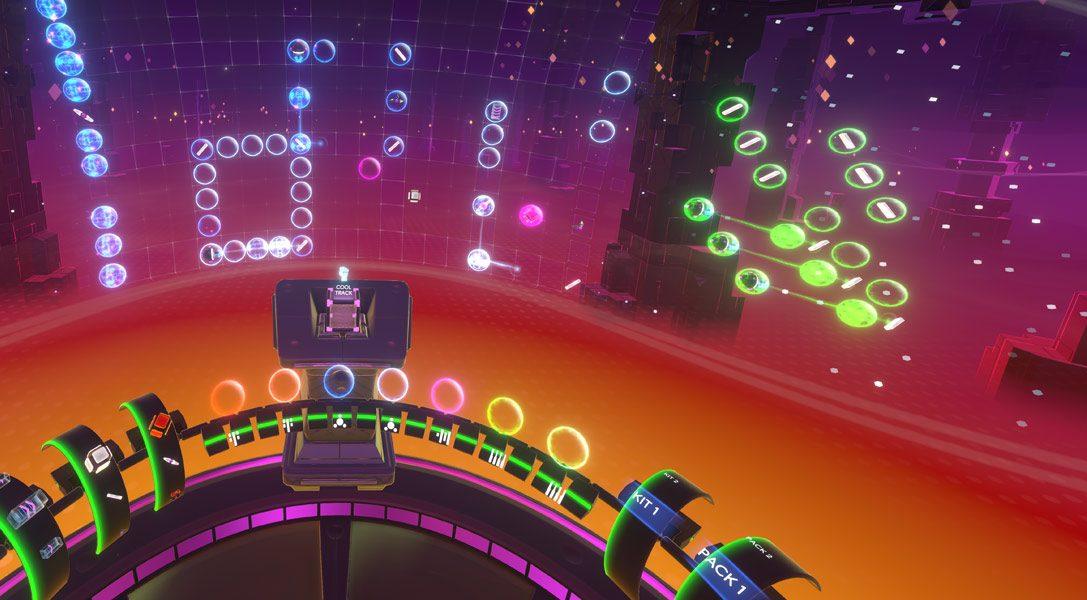 Crea il tuo ritmo in realtà virtuale con Track Lab, disponibile da oggi per PS VR