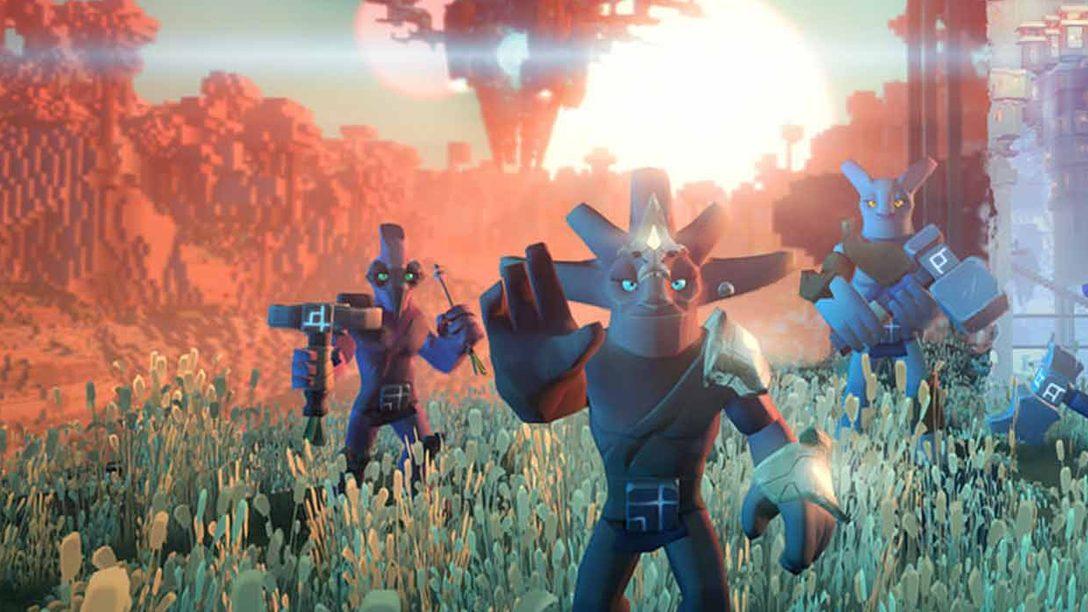 Esplorate, commerciate e plasmate l'universo nell'avventura MMO Boundless, disponibile su PS4 dalla prossima settimana