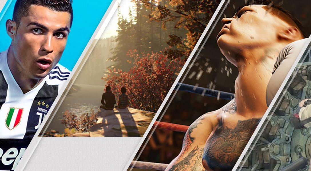 In primo piano questa settimana su PlayStation Store: FIFA 19, Life is Strange 2, Creed e molto altro ancora