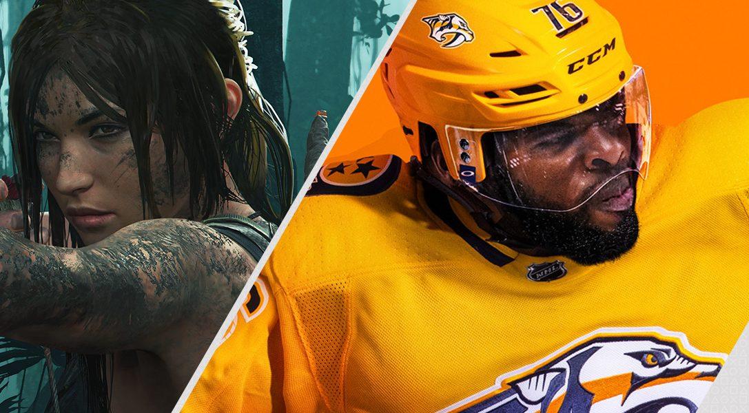 Questa settimana su PlayStation Store: Shadow of the Tomb Raider, EA Sports NHL 19 e molto altro
