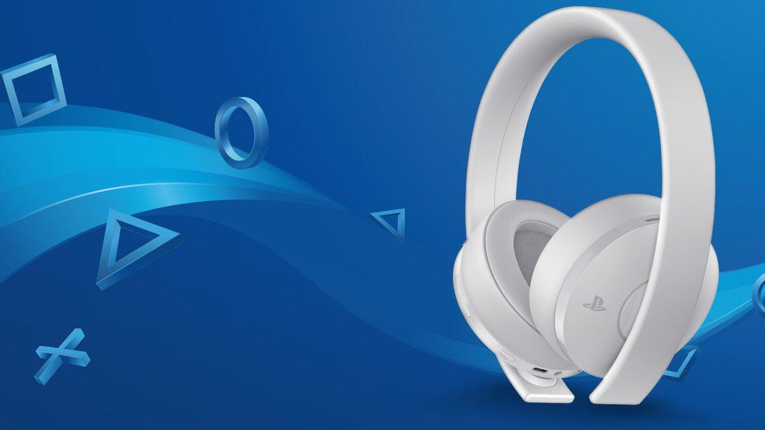 Gold Wireless Headset – Edizione Bianca in arrivo a dicembre