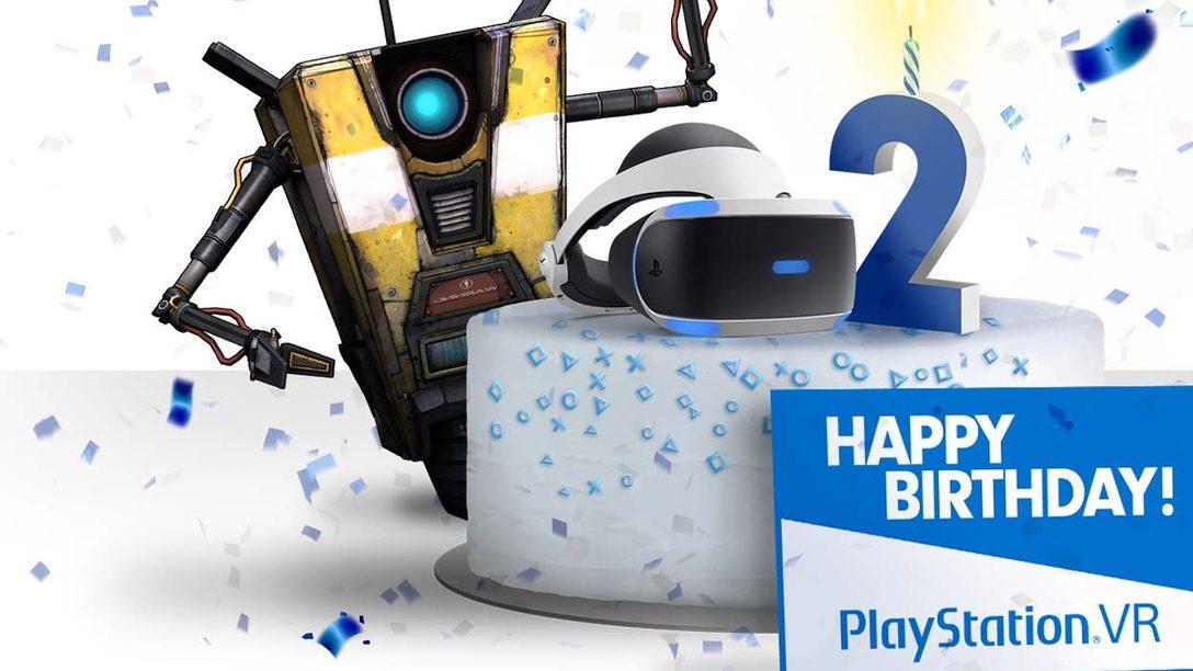 PlayStation VR festeggia il suo secondo anniversario con delle novità sui software