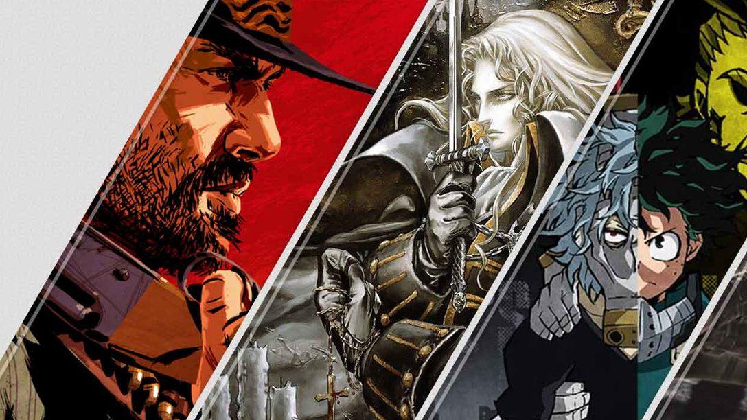Questa settimana su PlayStation Store: Red Dead Redemption 2 e Castlevania Requiem