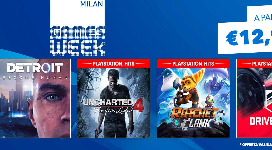 "La promozione ""Milan Games Week"" da oggi su PlayStation Store"