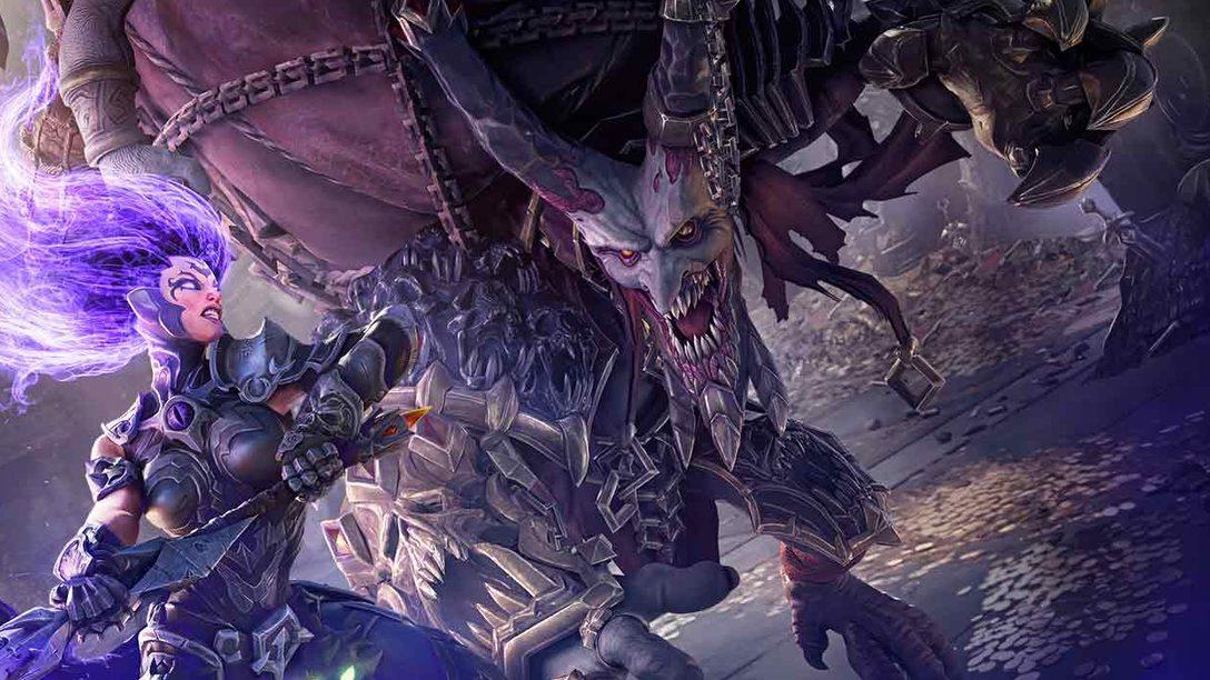 Domani festeggiamo il lancio di Darksiders III su PS4 con questi magnifici bozzetti
