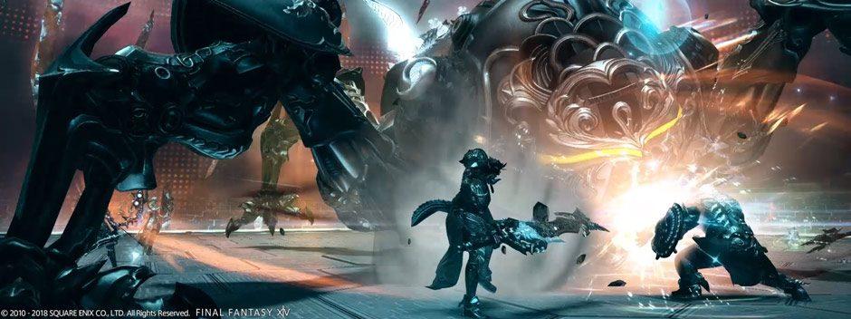 La storia non raccontata di come l'epico boss Omega di Final Fantasy XIV fu creato