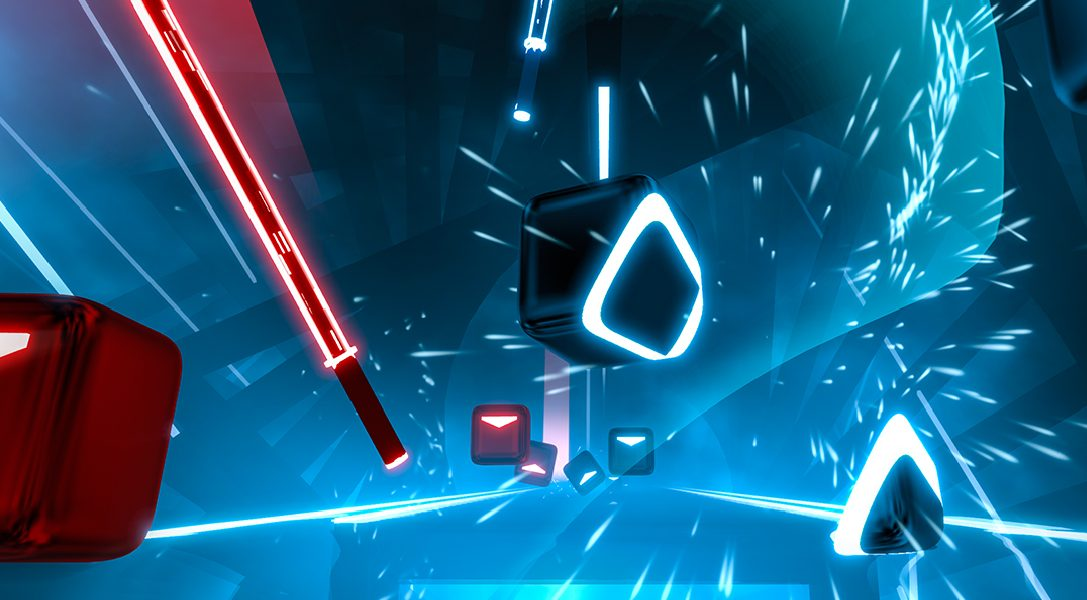 È stata fissata la data di uscita per PS VR del gioco d'azione a tempo di musica Beat Saber