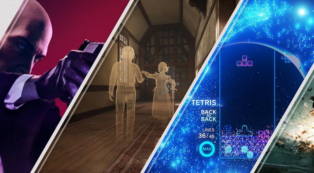 Nuovi su PlayStation Store questa settimana: Hitman2, Déraciné, Tetris Effect e altri ancora
