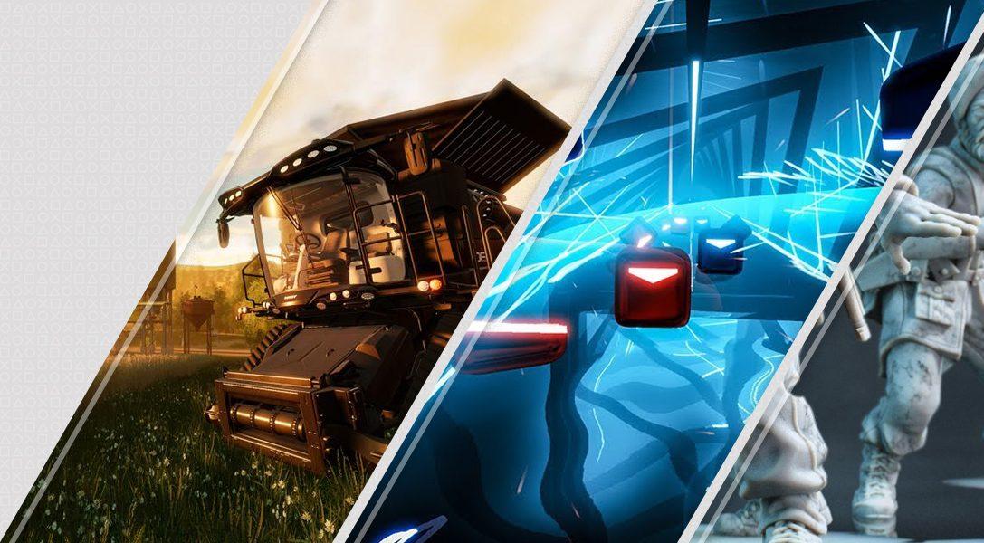 Le novità di questa settimana di PlayStation Store: Farming Simulator, Beat Saber, Rush VR e molto altro ancora