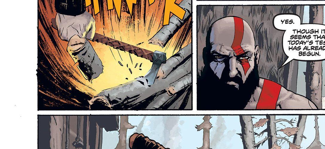 Date un'occhiata in esclusiva al prequel a fumetti di God of War prima che venga pubblicato la prossima settimana