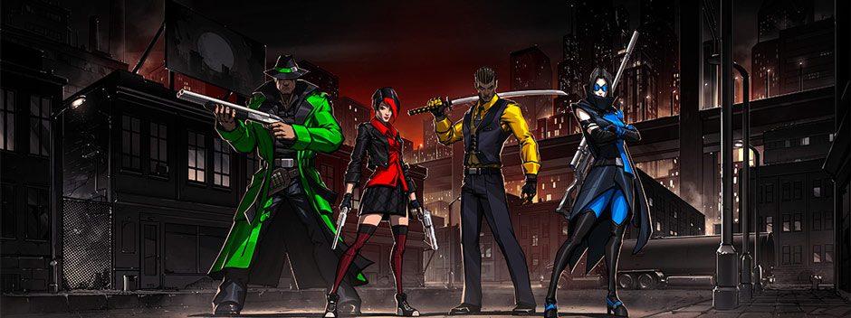 At Sundown: Shots in the Dark è uno sparatutto competitivo per PS4 che fonde nascondino e sparatorie