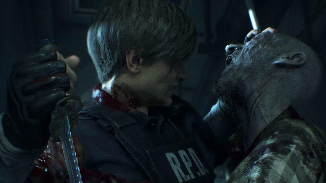 """Giocate per mezz'ora a Resident Evil 2 con la nuova demo """"1-Shot"""" in arrivo l'11 gennaio su PS4"""