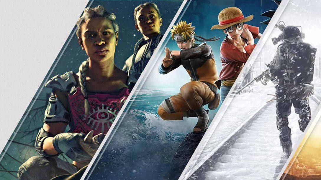 Le novità di questa settimana su PlayStation Store: Far Cry New Dawn, Jump Force, Metro Exodus e molto altro
