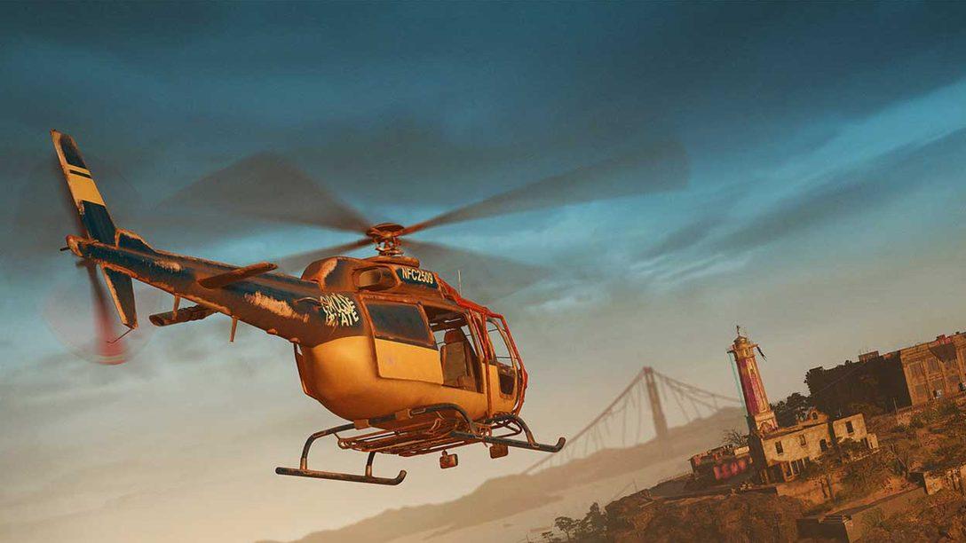Dai un'occhiata alla spedizione ad Alcatraz di Far Cry New Dawn