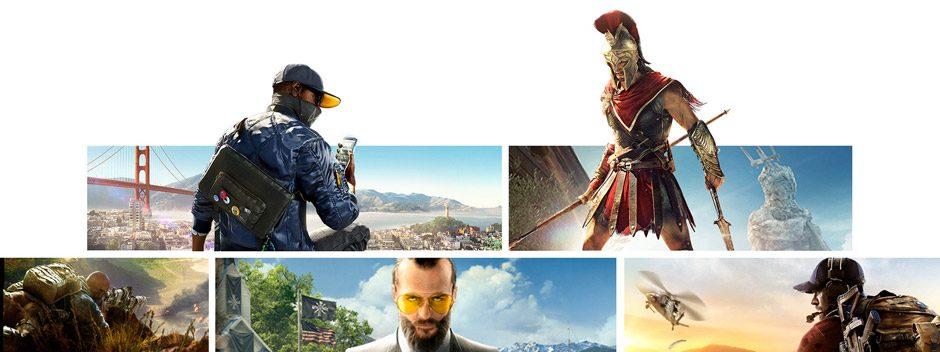 I nuovi sconti del PlayStation Store iniziano oggi: promozione Ubisoft, giochi a meno di €20 e molto altro