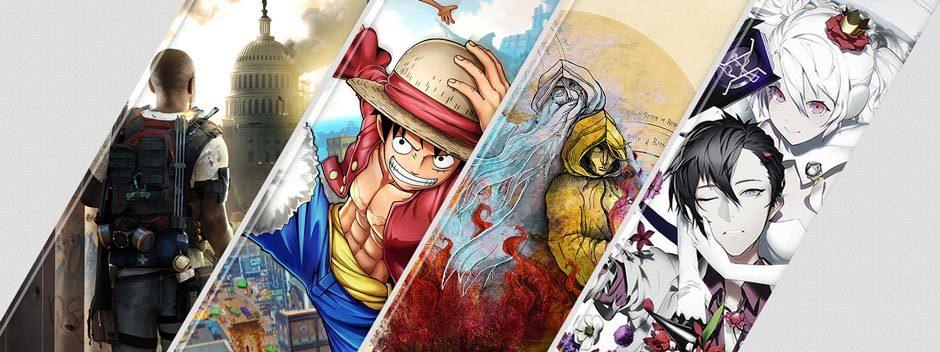 Le novità su PlayStation Store di questa settimana: Tom Clancy's The Division 2, One Piece World Seeker e molto altro