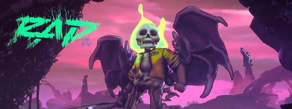 RAD è il nuovo roguelike in chiave action di Double Fine, in arrivo su PS4
