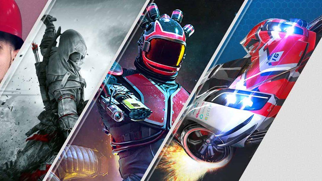 Novità sul PlayStation Store di questa settimana: MLB The Show 19, Assassin's Creed III Remastered, Outward e altro ancora
