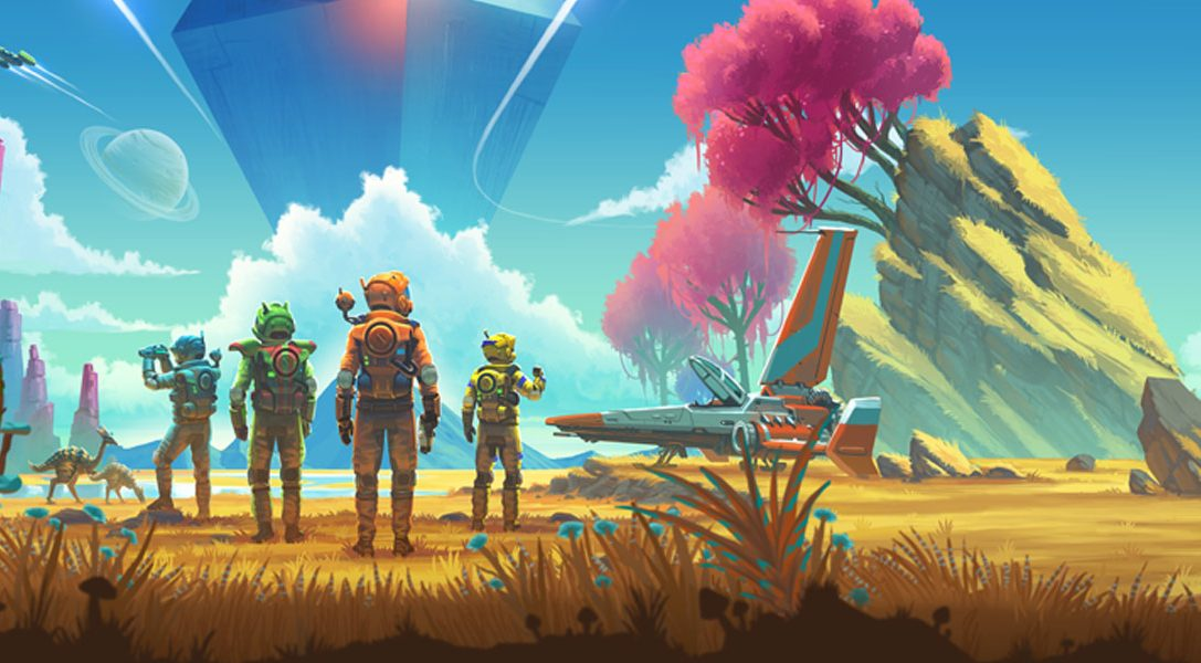 No Man's Sky Beyond include il supporto completo per PlayStation®VR