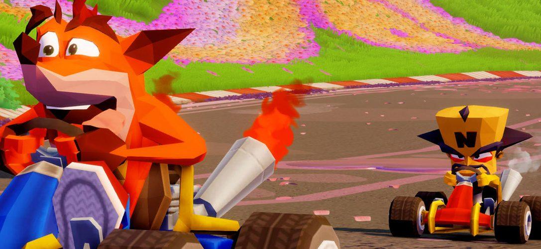 Ritorno al rétro! La creazione di contenuti esclusivi per PS4™ in CTR: Nitro Fueled