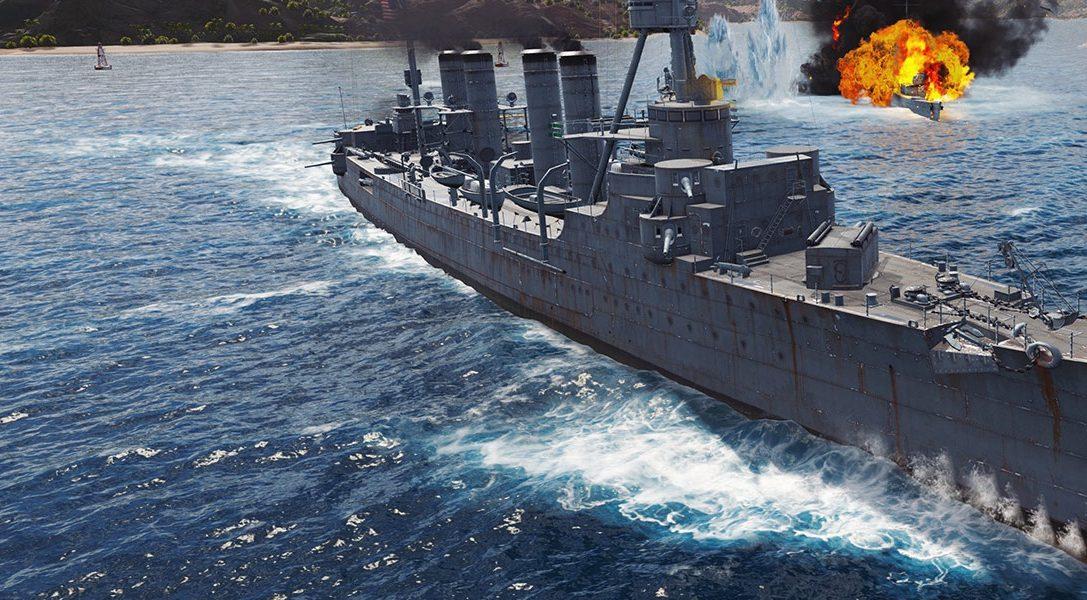 La vostra guida al simulatore storico World of Warships: Legends, in uscita oggi su PS4