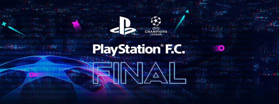 Tutto pronto per la finale di UEFA Champions League PlayStation F.C.