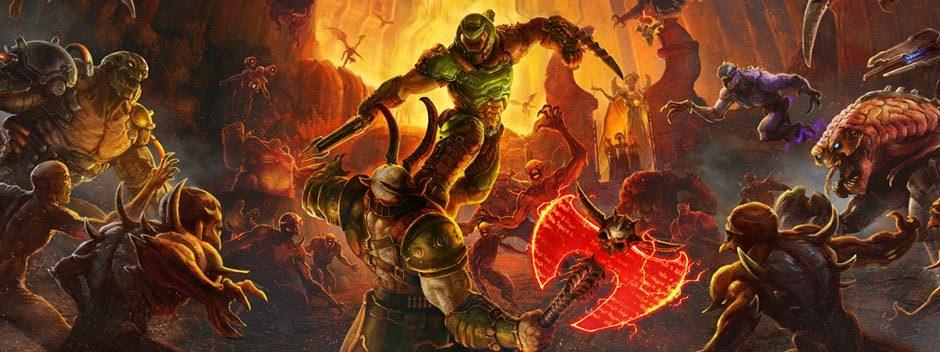 Scopri il nuovo trailer di gioco di Doom Eternal, lo sparatutto che uccide i demoni annuncia la sua data di uscita
