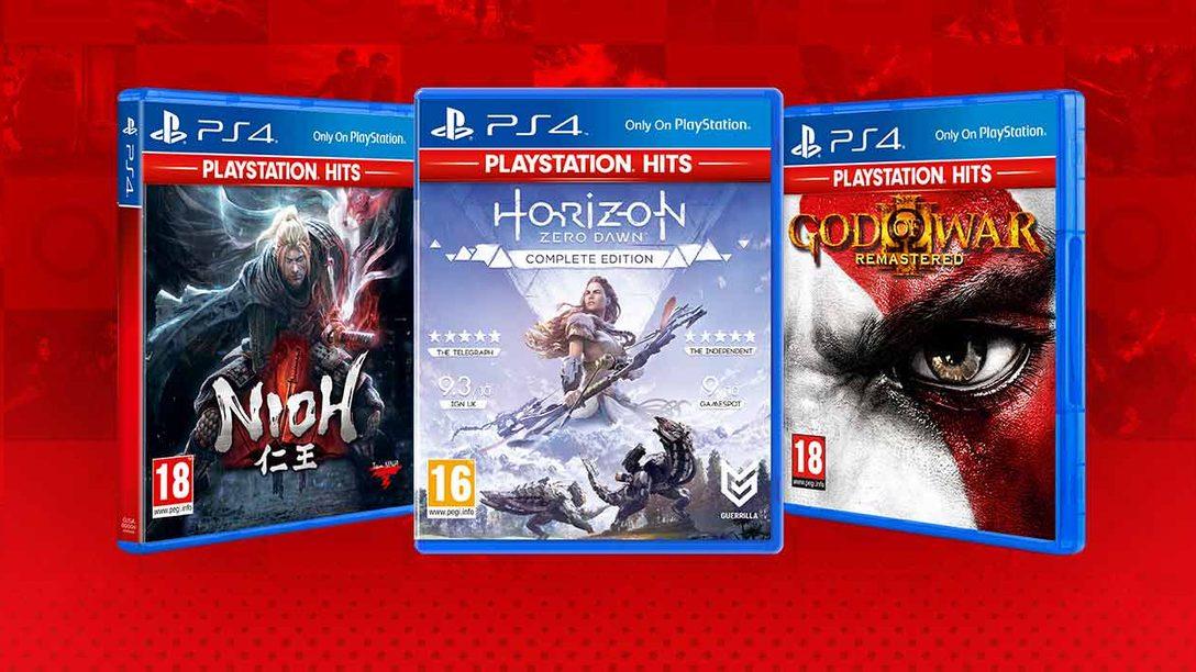 Ti presentiamo le nuove aggiunte alla line-up PlayStation Hits