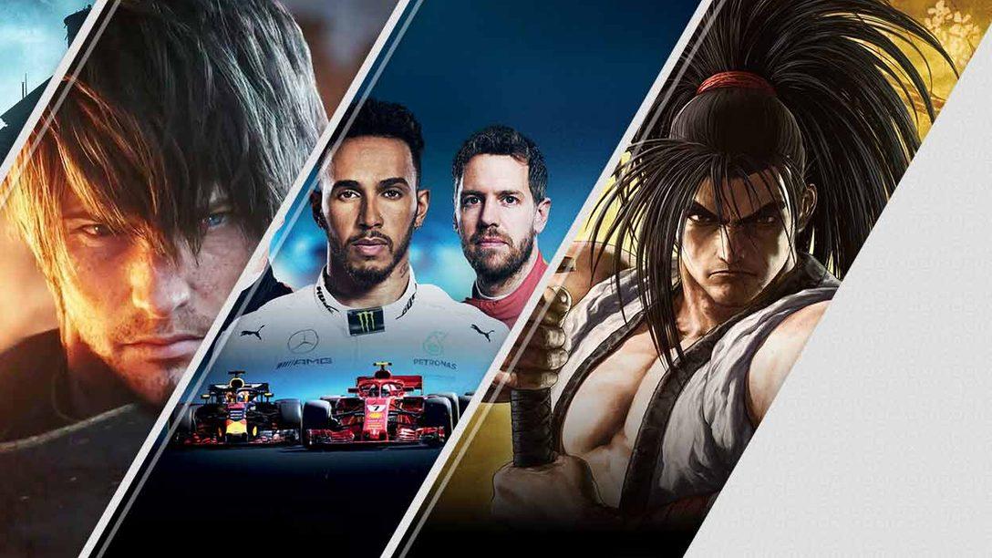 Le novità di questa settimana su PlayStation Store: The Sinking City, Final Fantasy XIV: Shadowbringers, F1 2019, e molto altro