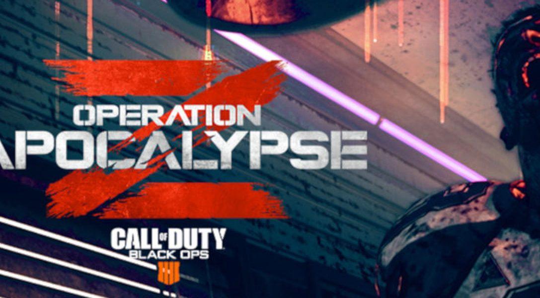 Operation Apocalypse Z di Call of Duty: Black Ops 4 arriva su PS4 il 9 luglio