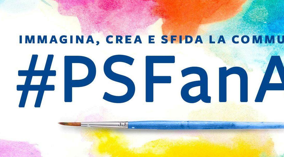 Nuova sfida #PSFanArt all'orizzonte