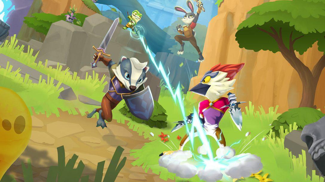 Grandi boss e strani minigiochi vi aspettano nel dungeon crawler competitivo ReadySet Heroes