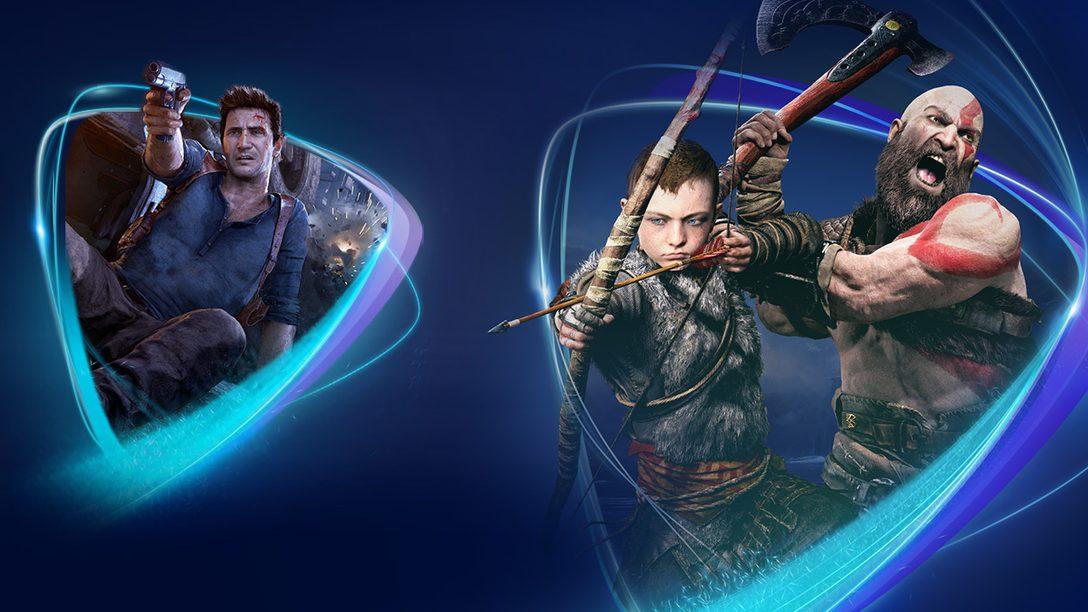 Gli abbonamenti a PlayStation Now partono da €9,99 al mese; GTA V, God of War e tanti altri titoli di successo aggiunti al servizio