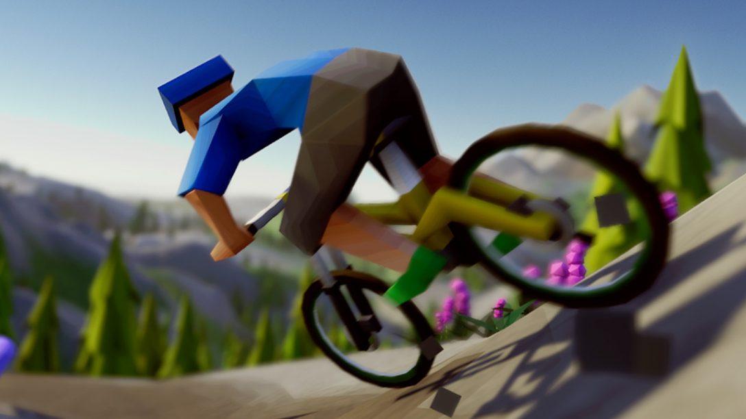 Lonely Mountains: Downhill, l'impegnativo gioco di corse in bicicletta uscirà questo mese
