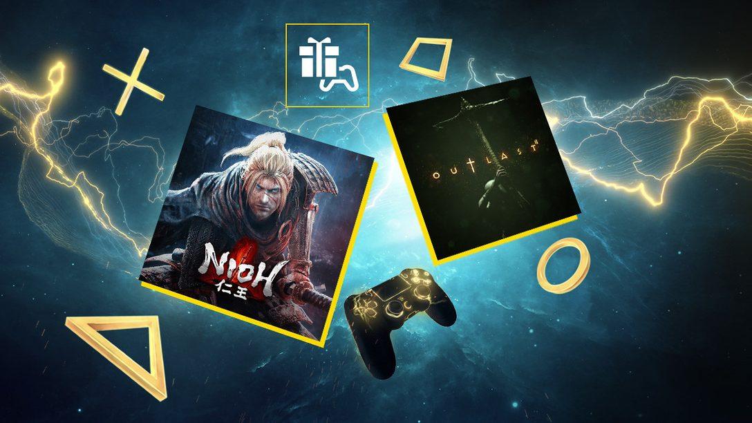Nioh e Outlast 2 sono i tuoi giochi PlayStation Plus di novembre