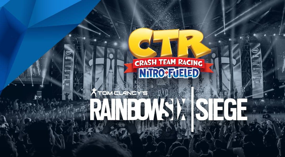 Campionato ESL presented by PS4, il via alle fasi a gironi di Crash CTR e Rainbow Six