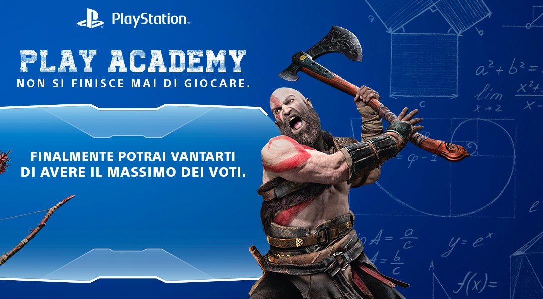 La PlayStation Academy ti aspetta