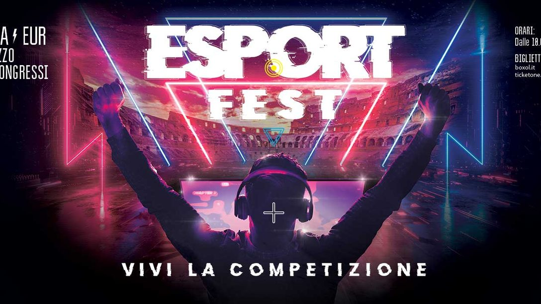 Esport Fest, il primo festival dei videogiochi competitivi arriva a Roma