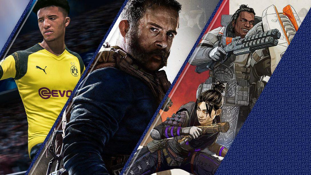 Questi sono stati i giochi più scaricati su PlayStation Store nel 2019