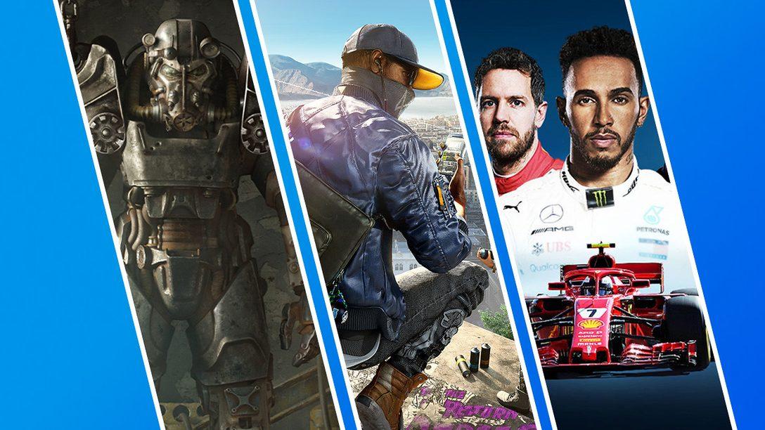 La promo Giochi a meno di € 20 di PlayStation Store inzia oggi!