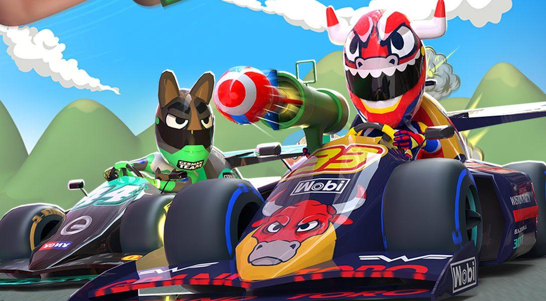 5 motivi per cui il gioco di corse arcade Touring Karts su PS VR dà il meglio su PS4