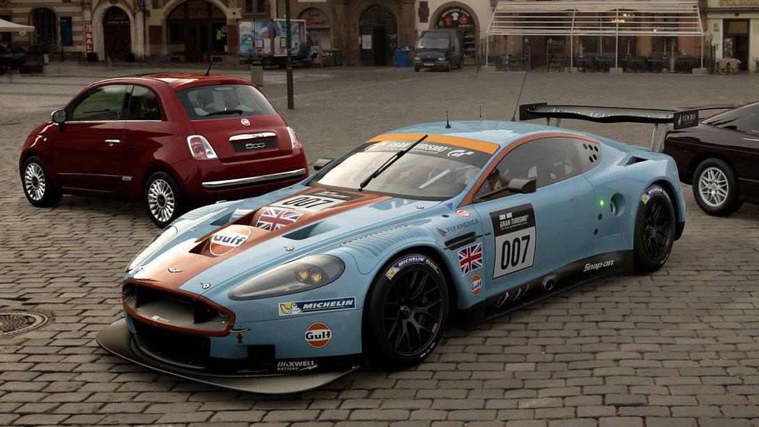Gran Turismo Sport si aggiorna con 3 nuove auto, tra cui la Aston Martin DBR9 GT1