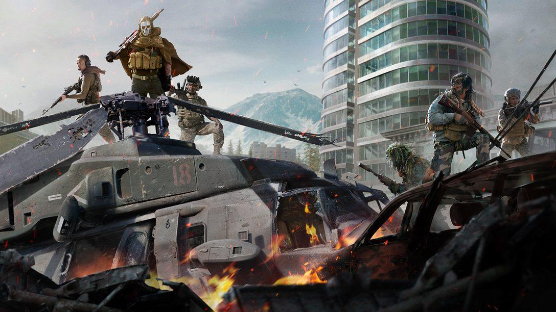 Gioca gratuitamente a Call of Duty: Warzone a partire dal 10 marzo