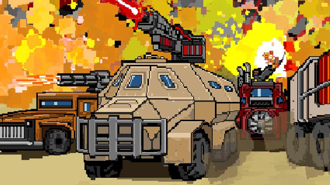 Convoy: A Tactical Roguelike arriva su PS4 l'8 aprile!