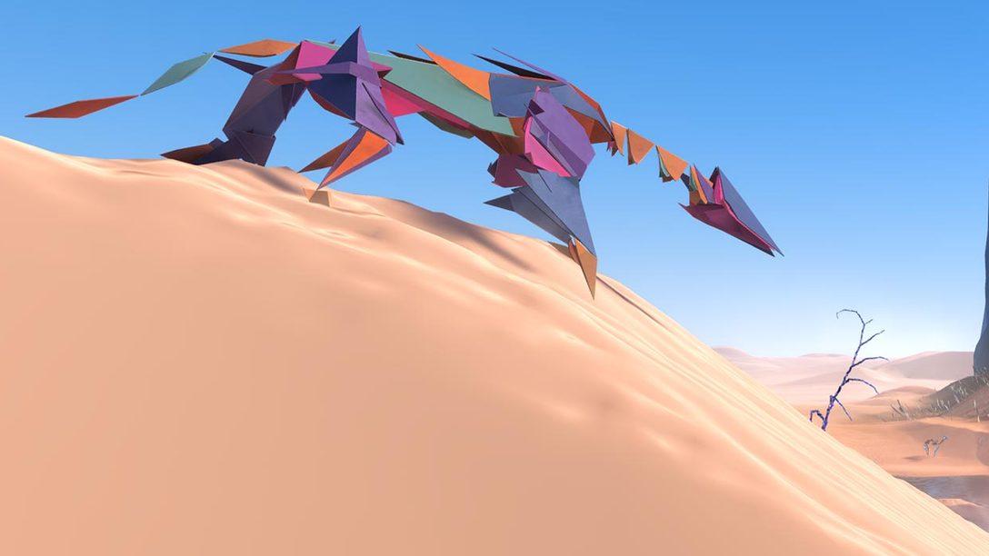La creazione del suggestivo mondo alieno di Paper Beast per PS VR
