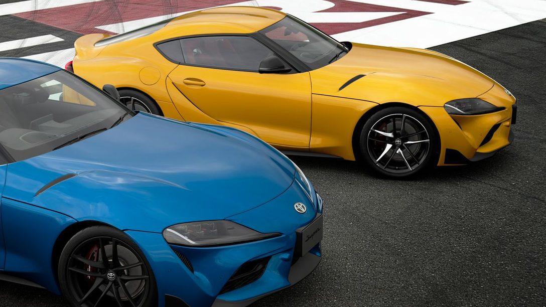 Gran Turismo Sport aggiunge la Toyota GR Supra RZ 2020 (N300)