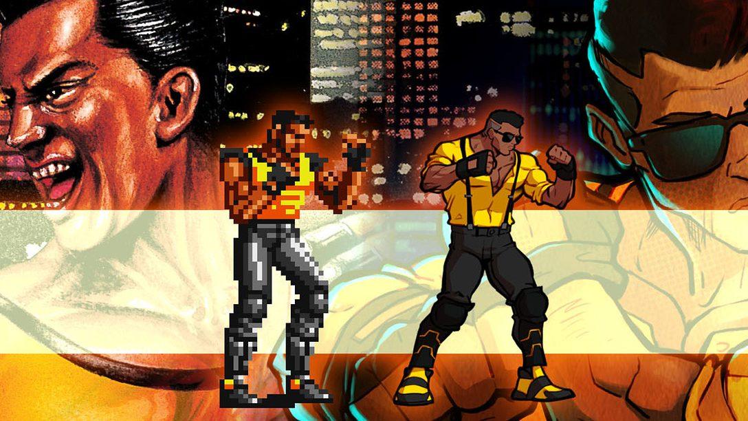 Ecco come gli iconici personaggi di Streets of Rage sono stati ripensati per il sequel su PS4