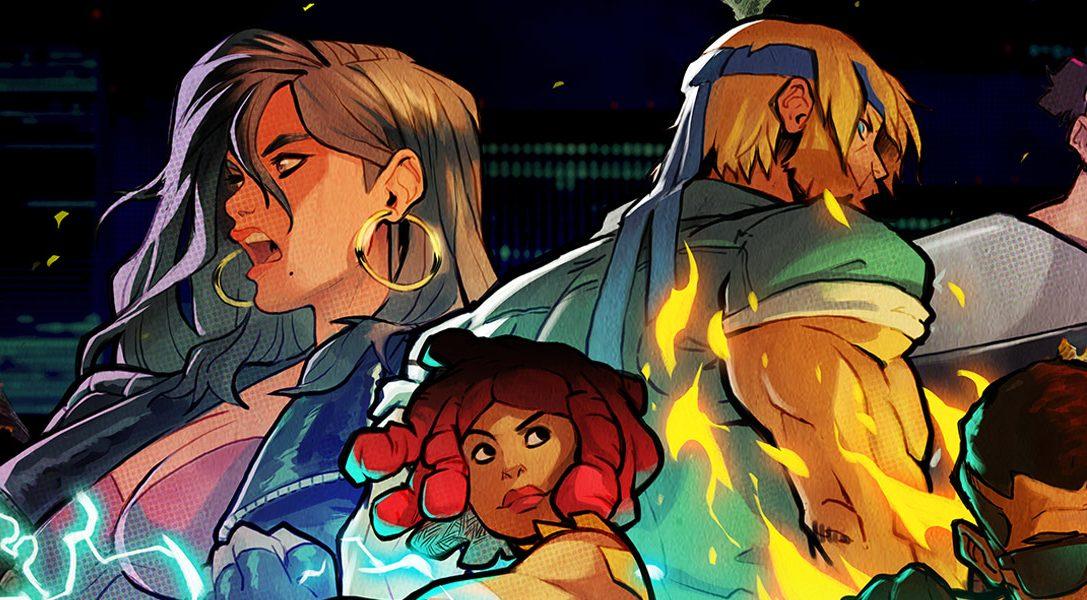 Vesti i panni di 12 personaggi in pixel art del passato in Streets of Rage 4, in arrivo il 30 aprile!